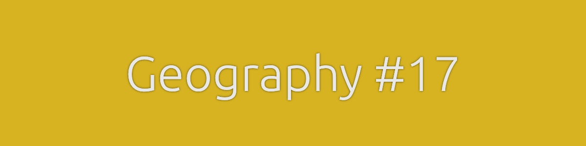 Geography Quiz Banner