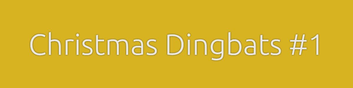 Christmas Dingbats Quiz Banner