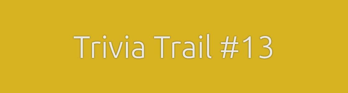 Trivia Trail
