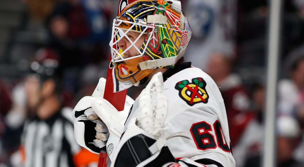 News broke early Monday morning that the Chicago Blackhawks have locked  down rookie goaltender Collin Delia to a three-year contract extension. ee8588c08