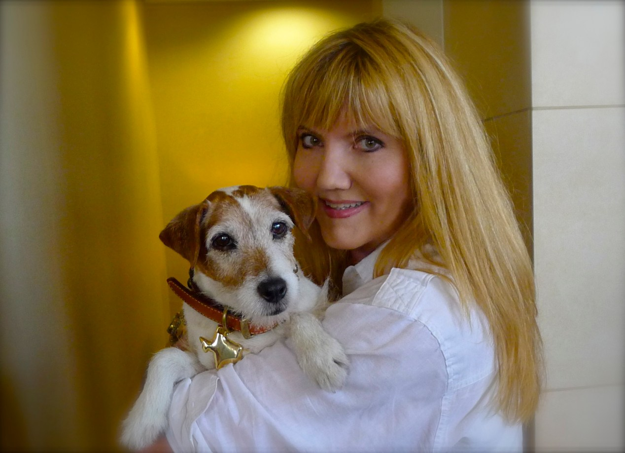 A dream come true, to meet the renowned Uggie of film and commercial fame. He was such a gentleman!