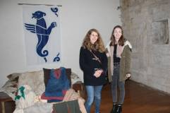 Me and Katie in the Signore's bedroom