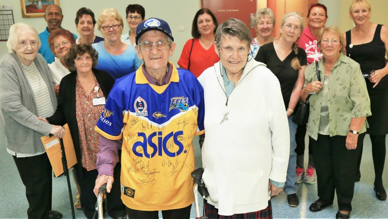 Mount Druitt Hospital; volunteers; Jack Mountain