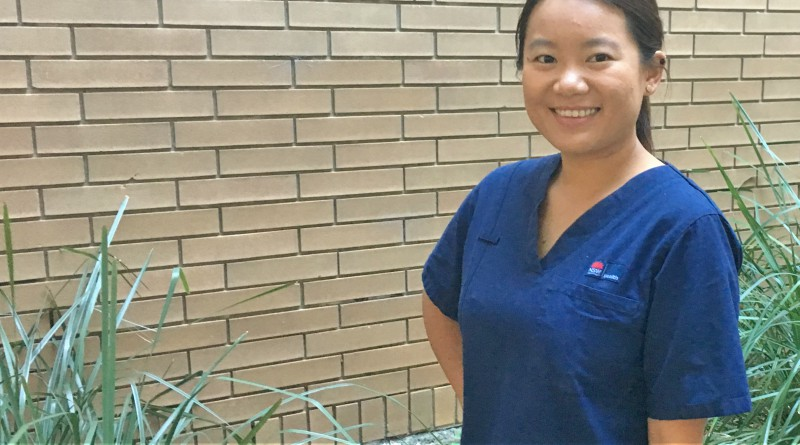 Westmead Hospital nurse Mengting Liu spent three months volunteering in the birthing unit at Tanzania's Levolosi Hospital.
