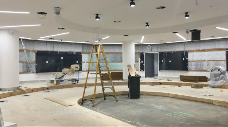 Work is reaching advanced stages at the Westmead Education and Conference Centre (WECC).