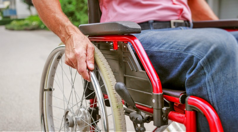 Person in a wheelchair, NDIS, disability. Picture: iStock
