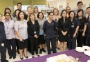 Cake cutting for new gastro ward