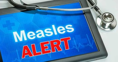 Measles alert