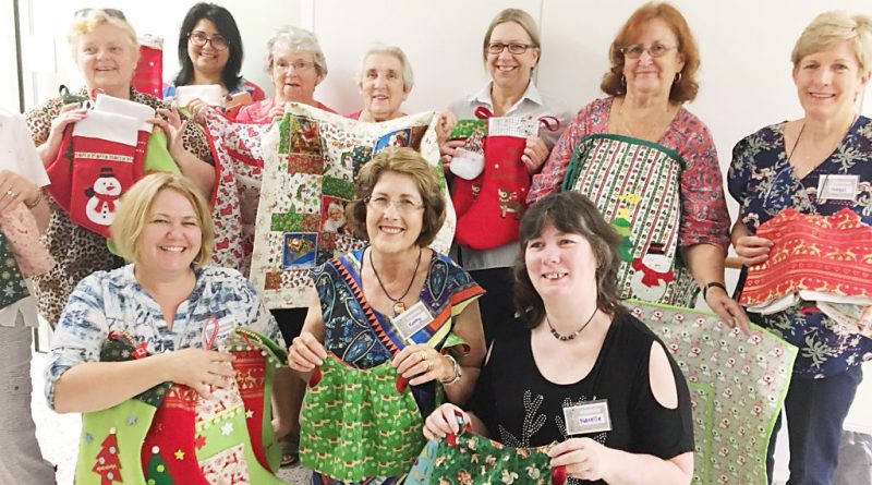 Christmas knitters