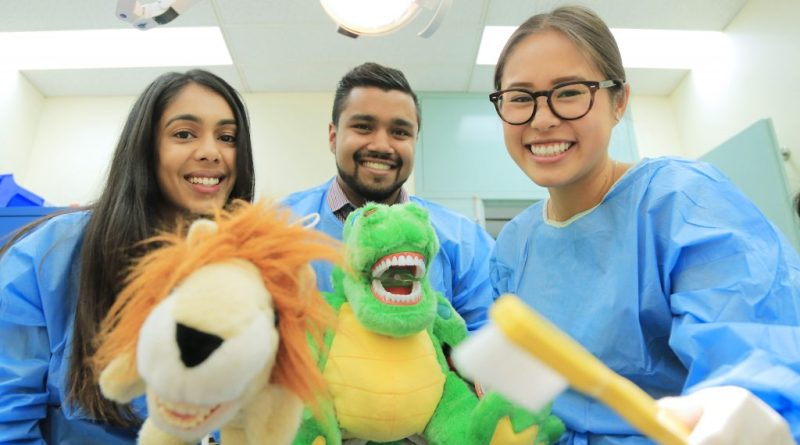 Dental interns