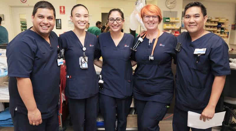 Auburn Hospital staff