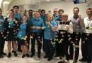 Paper cranes soar in hospital wards for World Cancer Day