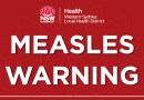 Measles alert following another locally acquired case