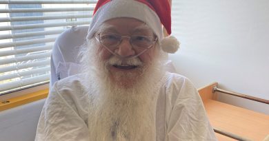 Santa gets a new kidney from Mrs Claus at Westmead Hospital