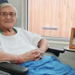 """""""He never leaves my side"""": Blacktown Hospital patient shares love story for the ages"""