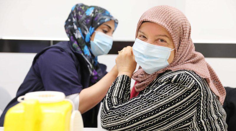 Western Sydney's COVID-19 vaccination outreach team visits Auburn Gallipoli Mosque