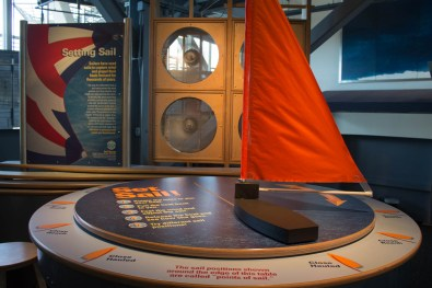 GulfQuest uses interactive and hands-on exhibits to demonstrate physics and nautical principles. (Derek Cosson/The Pulse)