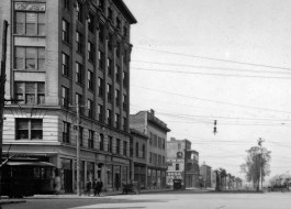 The Blount and Brent Buildings, 1912. (UWF Archives/Special to The Pulse)