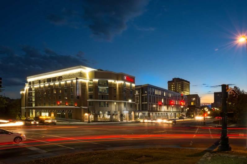 A Hilton Garden Inn hotel in Asheville, N.C. (Hilton/Special to The Pulse)