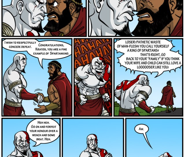 Gay Chicken Needs To End So I Can Start Using Kratos For Other Things  C2 B7