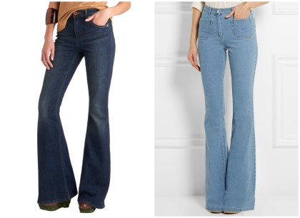 Speaking of flare jeans, while their name might be a mouthful, these are a staple in Stevie's wardrobe. Not to mention they would look adorable with the next item... High Rise Flare Jeans (Michael Kors) Flare Play Jeans (Dittos)