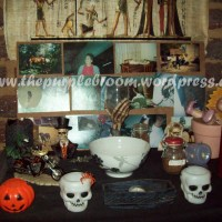 7 Days of Samhain Day 4- Setting up the altars