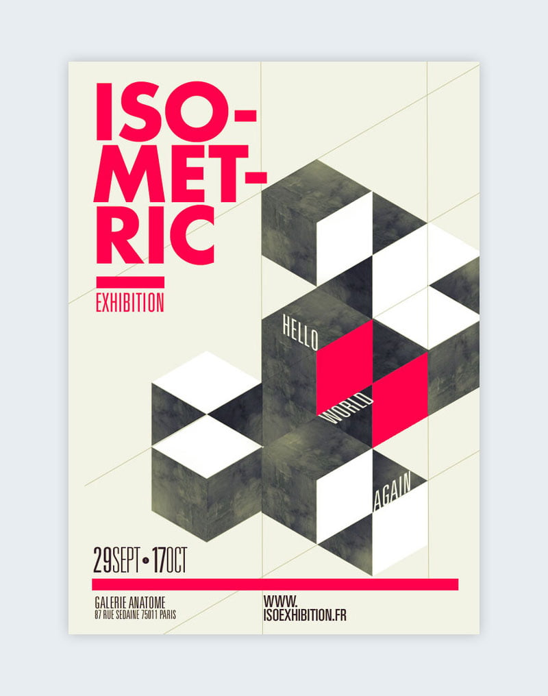 image showing various geometric shapes laid out together to form interesting designs from graphic design trends of 2021