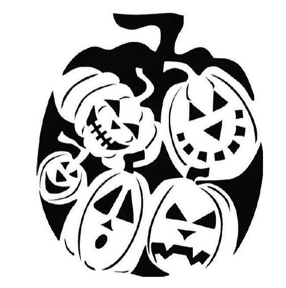 Cheshire Pumpkin Carving Templates