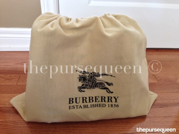 burberry dustbag