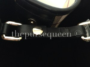 burberry handbag hardware real vs fake authentic vs replica