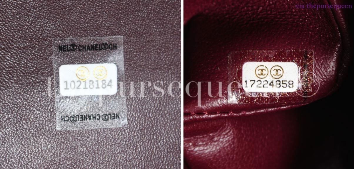 chanel real vs fake replica vs authentic guide hologram sticker jumbo 7