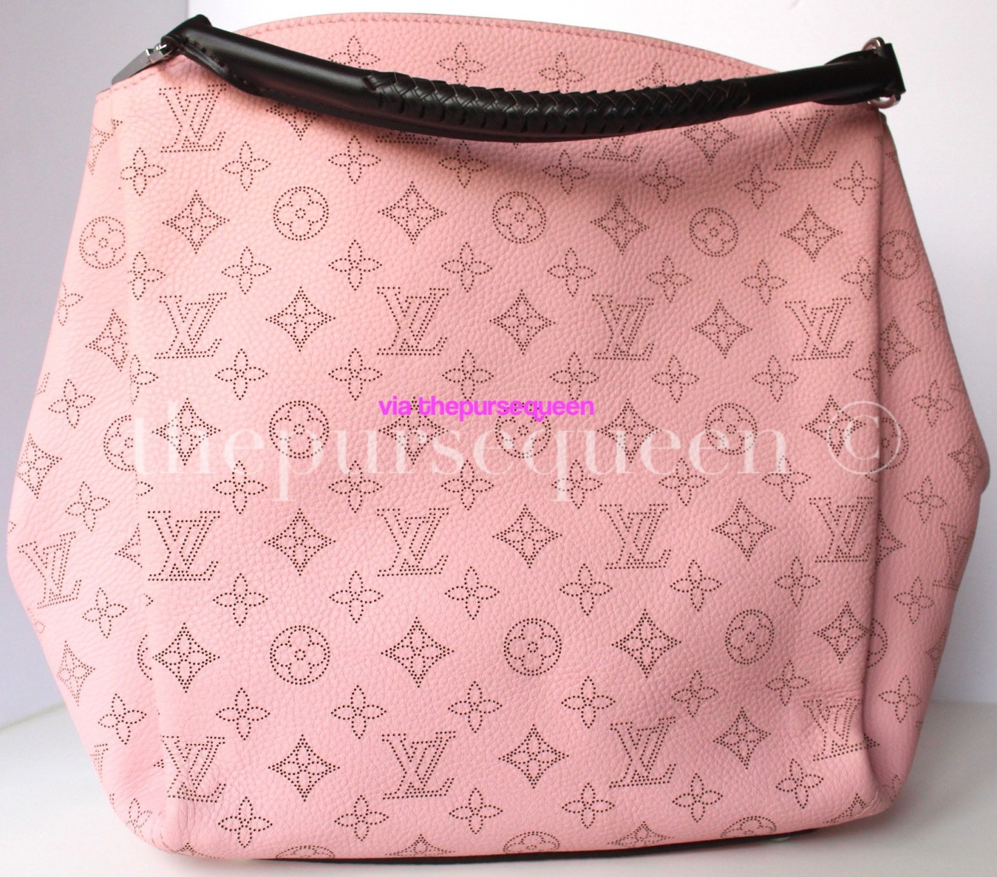 f86d2af195 Louis Vuitton Babylone PM Mahina Leather Replica Review - The Purse ...