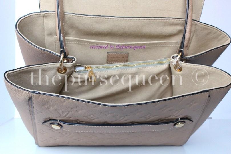 louis vuitton empreinte Trocadero replica authentic review inside suede bag