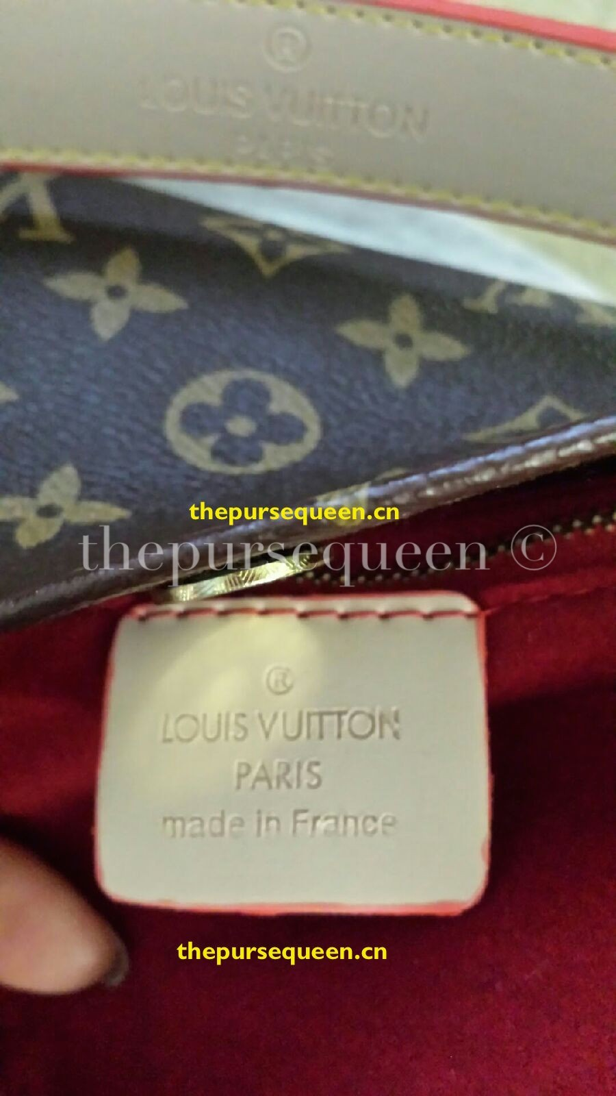 bad fake louis vuitton replica review ioffer tag