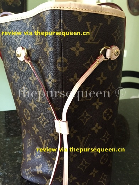 LOUIS VUITTON NEW NEVERFULL AUTHENTIC REPLICA DRAWSTRING