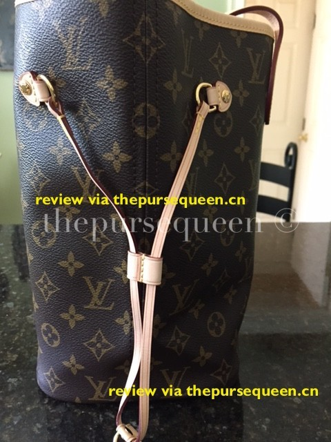 LOUIS VUITTON NEW NEVERFULL AUTHENTIC REPLICA SIDE OF BAG