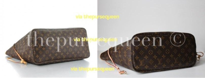Can You Spot a Fake Louis Vuitton Bag  Authentic vs. Replica Louis ... c4a6439a46a18