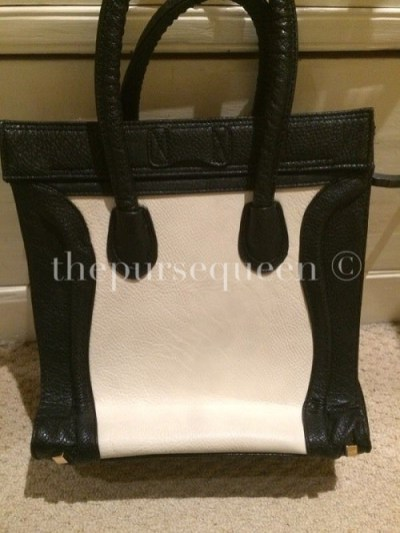 Replica Celine Nano Bag Back View
