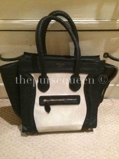 Replica Celine Nano Bag Front View