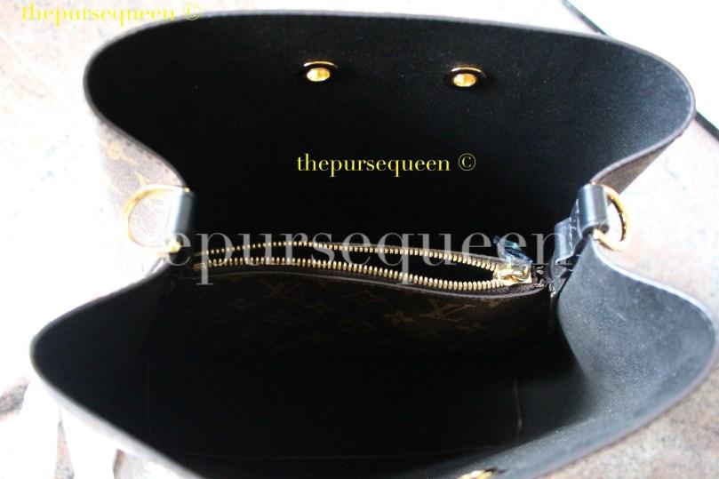 Louis Vuitton Neo Noe M44021 #replicabag #authenticbag bag interior