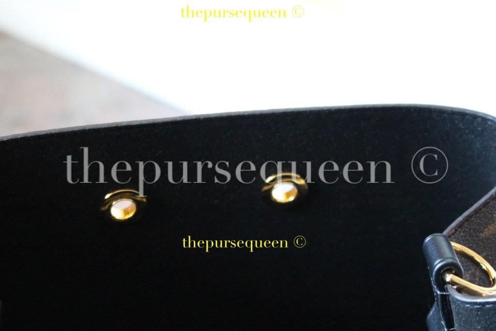 Louis Vuitton Neo Noe M44021 #replicabag #authenticbag suede interior