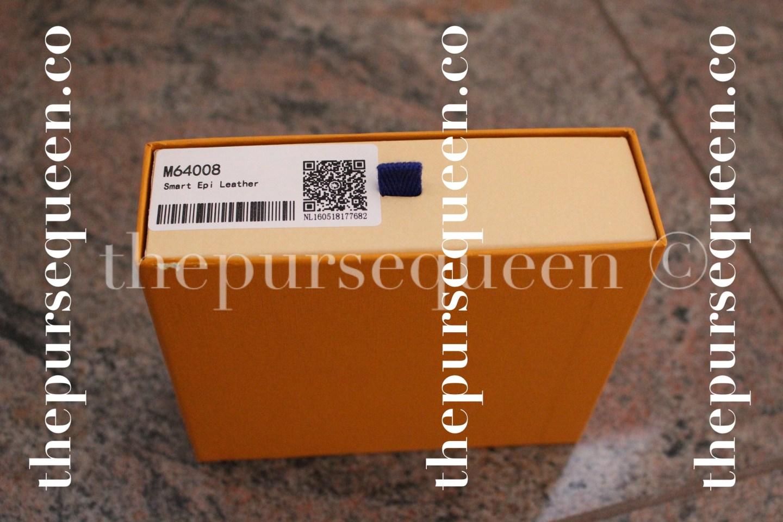 Louis Vuitton Smart Epi Leather Replica Wallet Box