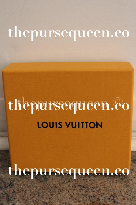 Louis Vuitton Multiple Epi Initials Wallet Box