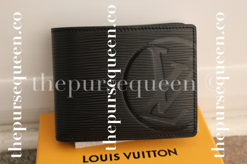 Louis Vuitton Multiple Epi Initials Replica Wallet Front View