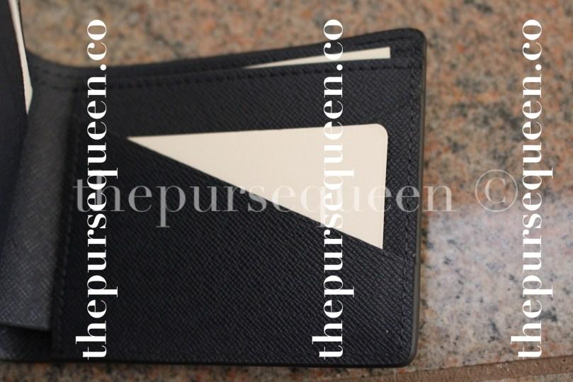 Louis Vuitton Multiple Epi Initials Replica Wallet Interior