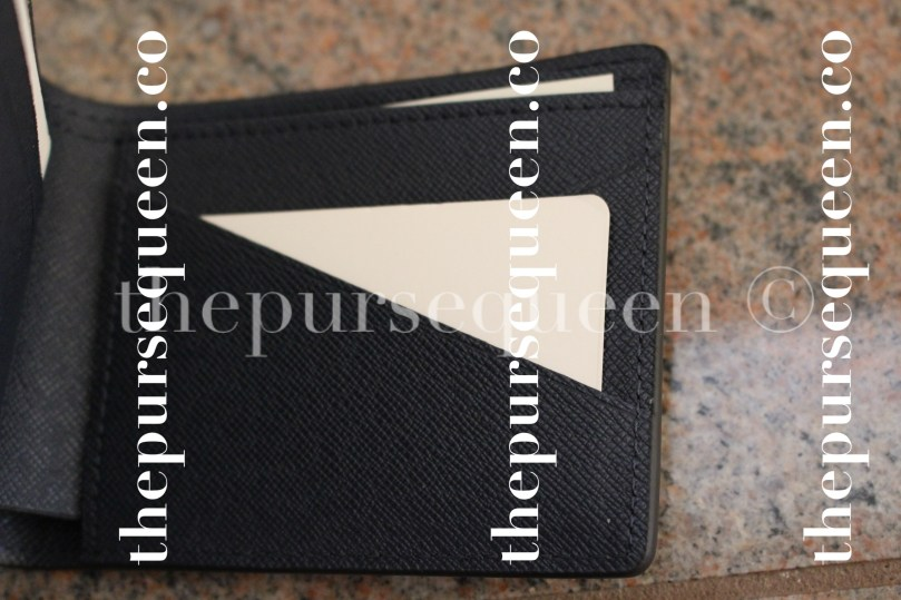 Louis Vuitton Multiple Epi Initials Replica Wallet Interior