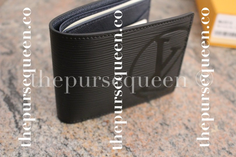 Louis Vuitton Multiple Epi Initials Replica Wallet Side View