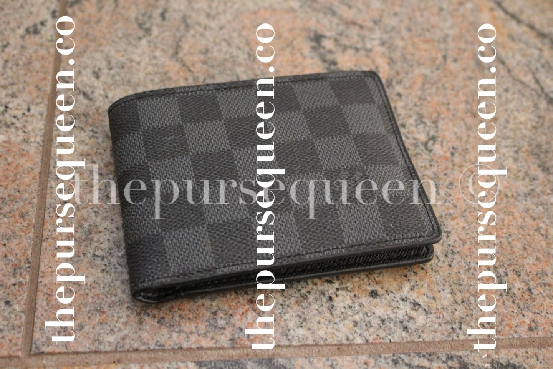 Louis Vuitton Damier Graphite Multiple Replica Wallet