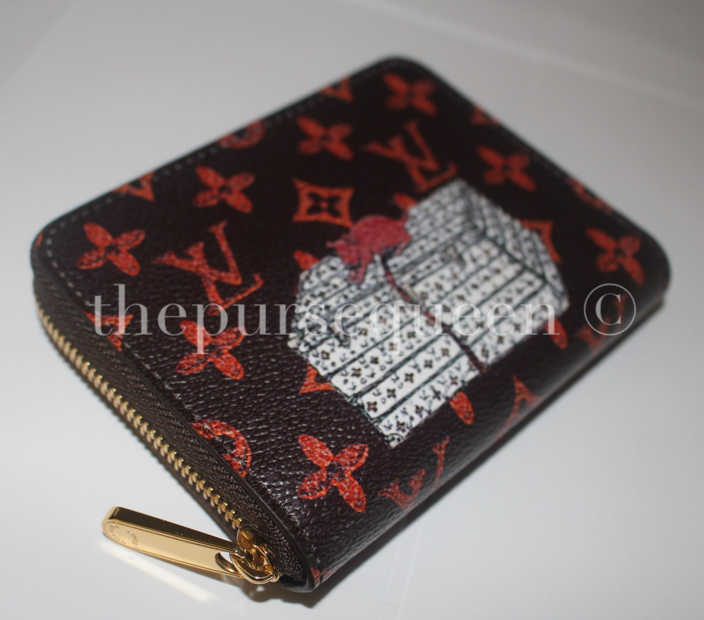louis vuitton catogram replica wallet