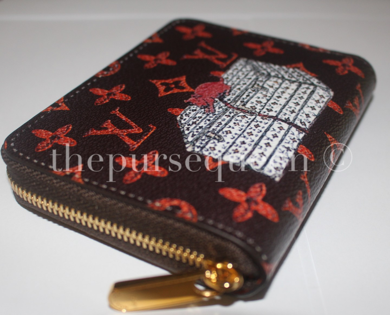 louis vuitton catogram replica wallet